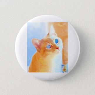 Siamese Cat 2 Inch Round Button