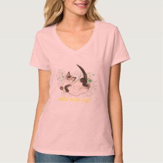 Siamese cat art personalized T-Shirt