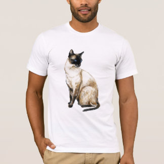 """Siamese Cat"" Art Shirt"