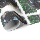 Siamese Cat Christmas Winter Wrapping Paper