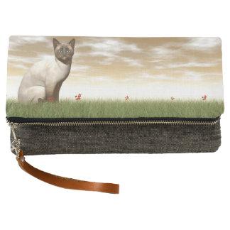 Siamese cat clutch