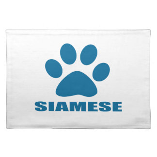SIAMESE CAT DESIGNS PLACEMAT