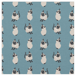 Siamese Cat Fabric