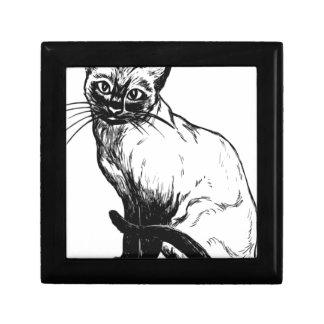 Siamese Cat Gift Box