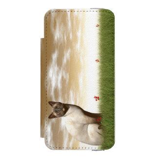 Siamese cat incipio watson™ iPhone 5 wallet case