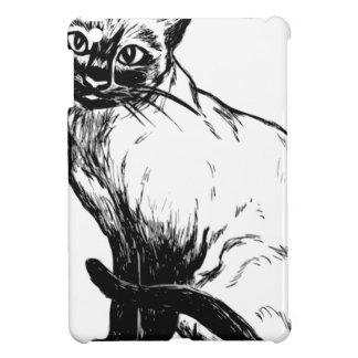 Siamese Cat iPad Mini Covers