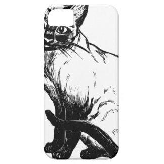 Siamese Cat iPhone 5 Cover