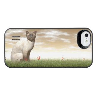 Siamese cat iPhone SE/5/5s battery case
