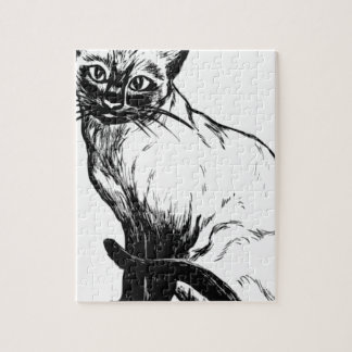 Siamese Cat Jigsaw Puzzle
