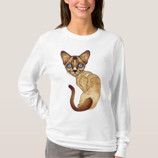 Siamese Cat Long Sleeve T-Shirt