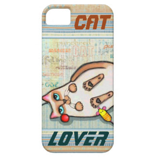 Siamese Cat Lover Case-Mate iPhone 5 Barely There iPhone 5 Cover