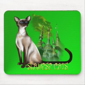 Siamese Cat  Mousepad