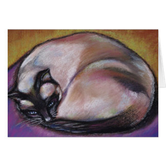 Siamese Cat Notecards Card