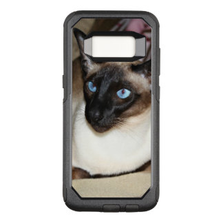 Siamese Cat Relaxing on Couch OtterBox Commuter Samsung Galaxy S8 Case