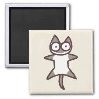 Siamese Cat Square Magnet