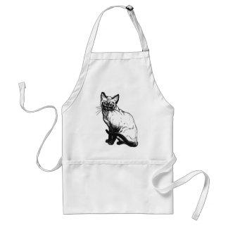 Siamese Cat Standard Apron