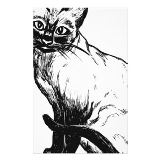 Siamese Cat Stationery