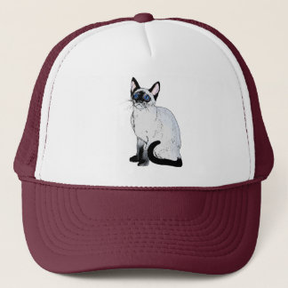 Siamese Cat Trucker Hat