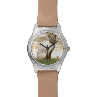 Siamese cat watch