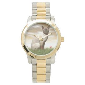 Siamese cat watch