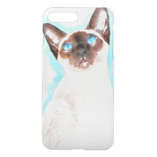 Siamese Cat Watercolor Art iPhone 7 Plus Case