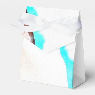 Siamese Cat Watercolor Art Wedding Favor Box