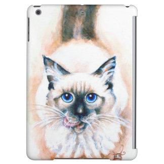 Siamese Cat Watercolor iPad Air Case