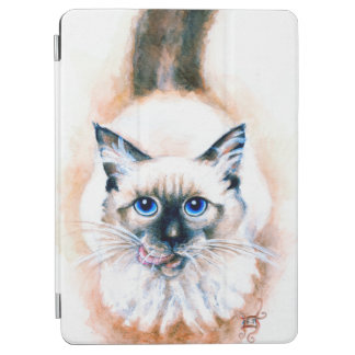 Siamese Cat Watercolor iPad Air Cover