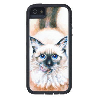 Siamese Cat Watercolor iPhone 5 Cover