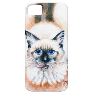 Siamese Cat Watercolor iPhone 5 Covers