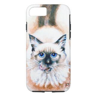 Siamese Cat Watercolor iPhone 8/7 Case