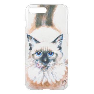 Siamese Cat Watercolor iPhone 8 Plus/7 Plus Case