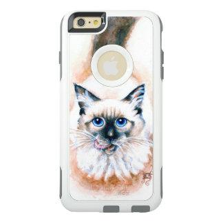 Siamese Cat Watercolor OtterBox iPhone 6/6s Plus Case