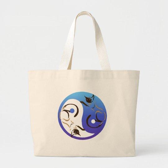 Siamese Cat Yin and Yang Bag