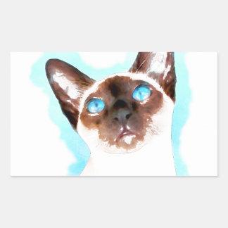 Siamese CatWatercolor Art