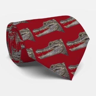 Siamese crocodile tie