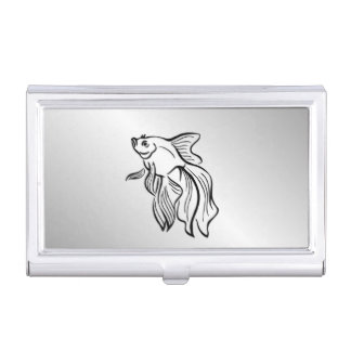 Siamese Fighting Fish Business Card Holder