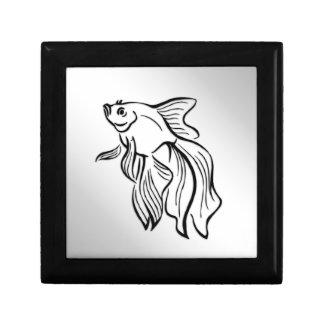 Siamese Fighting Fish Gift Box