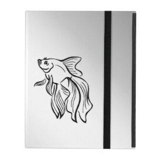 Siamese Fighting Fish iPad Case