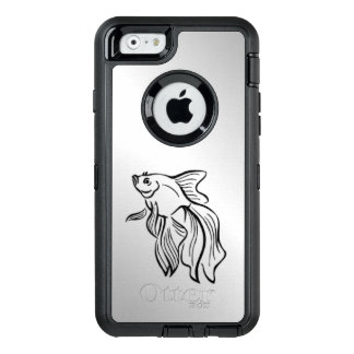 Siamese Fighting Fish OtterBox iPhone 6/6s Case