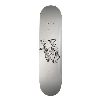 Siamese Fighting Fish Skate Board Decks