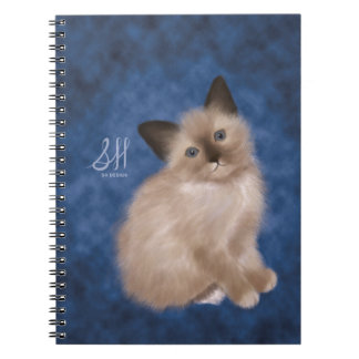 Siamese Kitten Notebooks