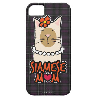 Siamese Mom Cat Lover Case For The iPhone 5