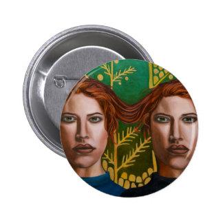 Siamese Twins 5 2 Inch Round Button