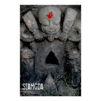 Siamgda - Black Triangle - Poster
