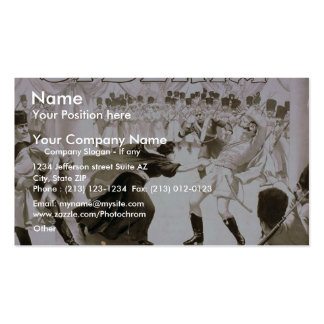 Siberia, 'Defending a Sister's Honor' Vintage Thea Business Card Template