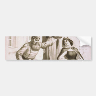 Siberia, 'Do you Know Him?' Vintage Theater Bumper Stickers