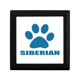 SIBERIAN CAT DESIGNS GIFT BOX