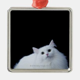 Siberian Cat Metal Ornament