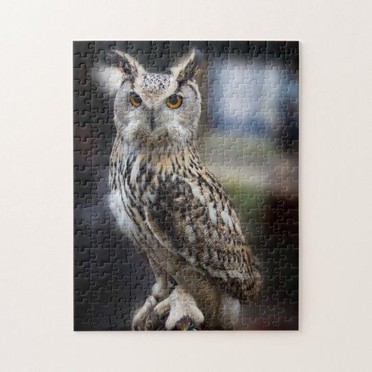 Siberian Eagle Owl Jigsaw Puzzle